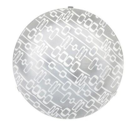Stropní svítidlo Rabalux 1823 Key/bílá-transparent, bílá, pr. 25 cm