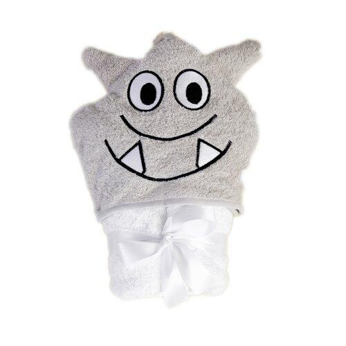 Ręcznik dla niemowlaka z kapucą Jimmy Nietoperz, 80 x 80 cm