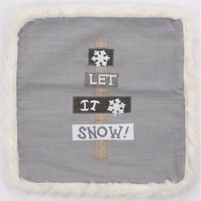 Obliečka na vankúšik Snow, 40 x 40 cm