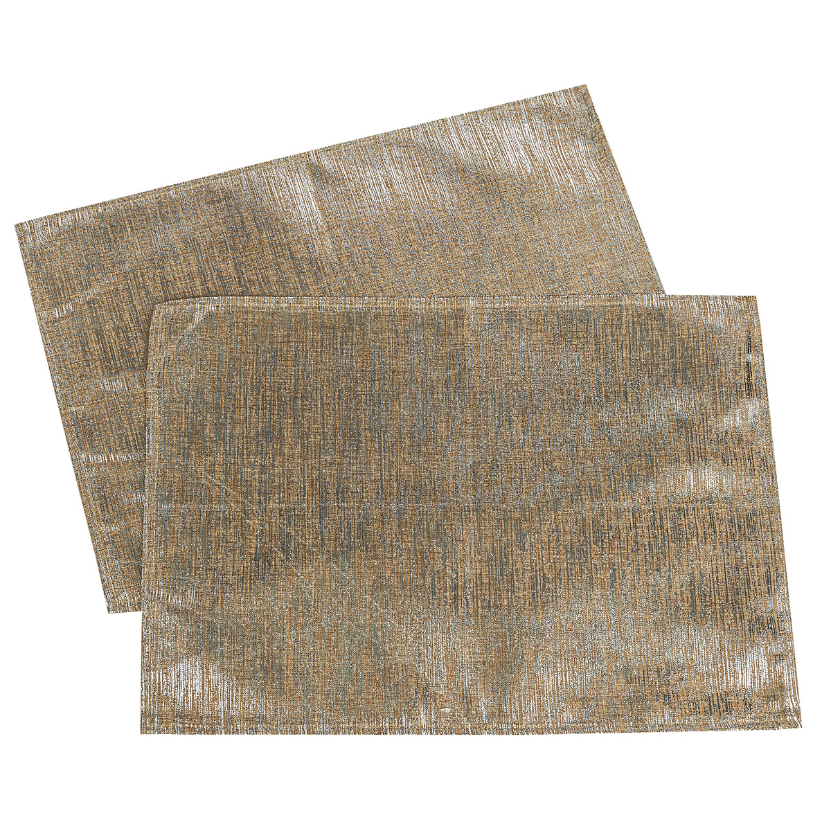Dakls Vánoční prostírání stříbrná, 32 x 45 cm, sada 2 ks