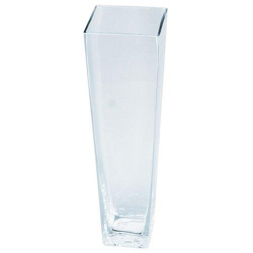 Skleněná váza Artemare čirá, 35 cm