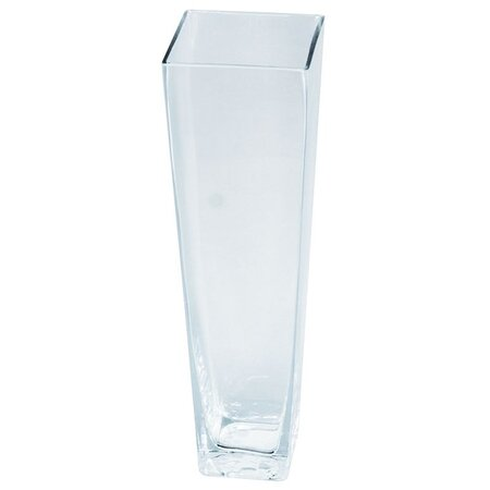 Sklenená váza Artemare číra, 35 cm