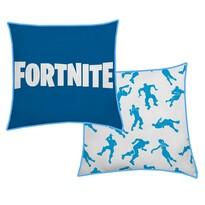 Halantex Mała poduszka Fortnite blue 036, 40 x 40 cm