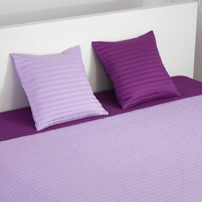 Přehoz na postel Mondo fialová a světle fialová, 220 x 240 cm