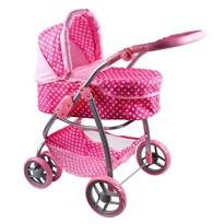 PlayTo Multifunkční kočárek pro panenky Jasmínka , světle růžová