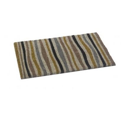 Vnitřní rohožka Stripes, 40 x 60 cm, šedá, 40 x 60 cm
