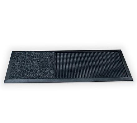 Venkovní dočišťovací rohož,  40 x 90 cm, černá, 40 x 90 cm