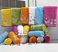 Sada bavlněných ručníků Kruhy