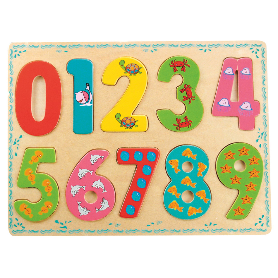 Bino Puzzle Cyfry