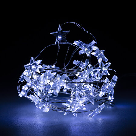Instalație de pom Stellare alb rece, 40 LED
