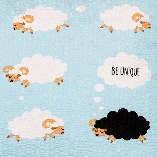 4Home Krepové obliečky Black sheep, 140 x 200 cm, 70 x 90 cm