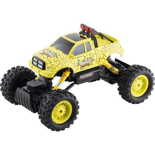 Buddy Toys BRC 14.612 Auto na diaľkové ovládanie RC Rock Climber, žltá