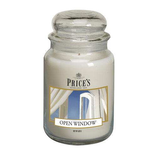 Price's Świeczka zapachowa w szkle Large Jar Open Window