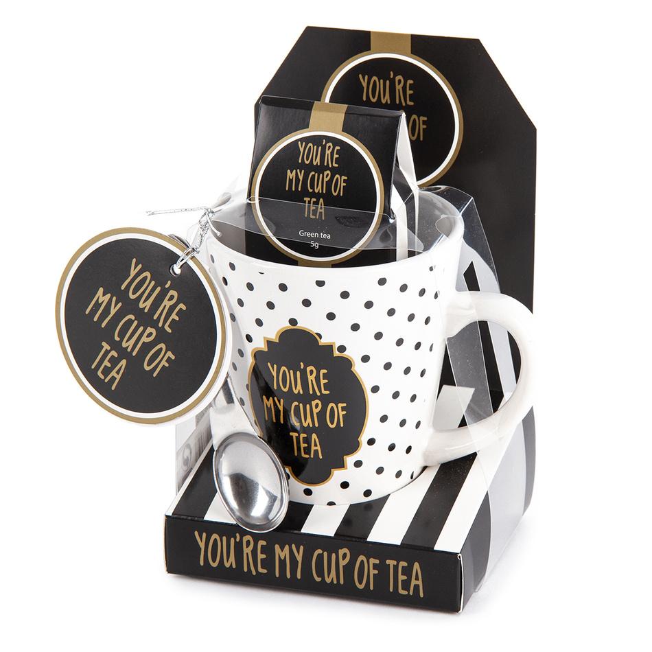 Dárková sada hrnek s nápojem My cup of tea, 320 ml