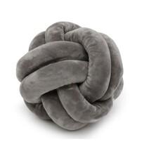 Domarex Loop sence párna, szürke, 25 x 25 cm