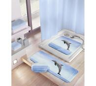 Kleine Wolke protiskluzová podložka Delfin modrá