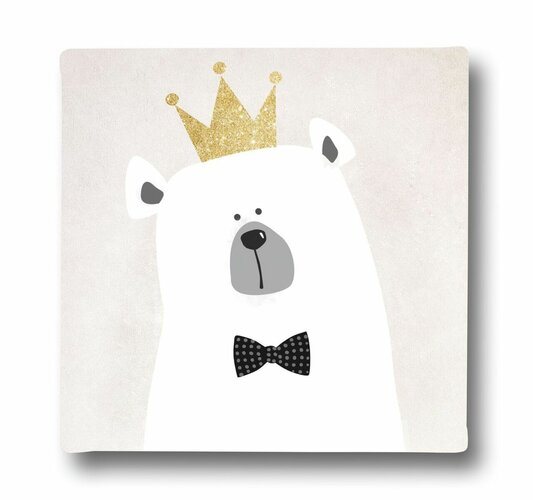 Butter Kings King Bear Kép vásznon