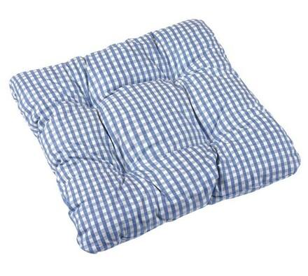 Sedák Adéla sv. modrá kostička, 40 x 40 cm, sada 2 ks