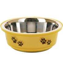 Etetőtál kutyáknak sárga, 300 ml