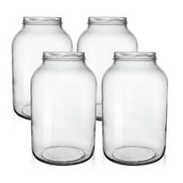 Orion Sada zavařovacích sklenic se závitem Okurkáč 3,7 l, 4 ks