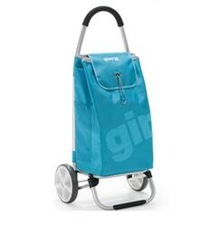 World Galax nákupní taška na kolečkách azurová