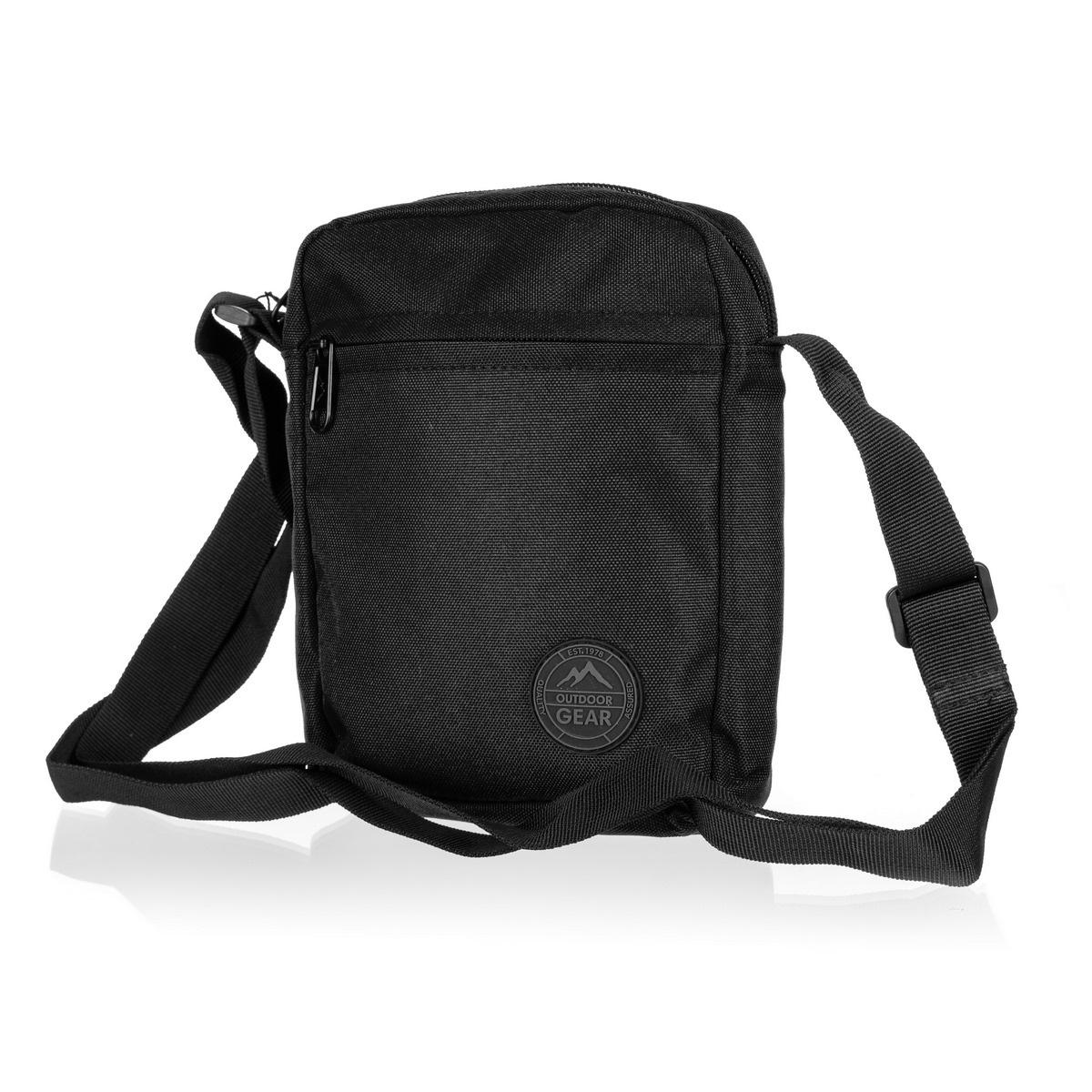 Outdoor Gear Taška přes rameno Scale černá, 16 x 20 x 5 cm