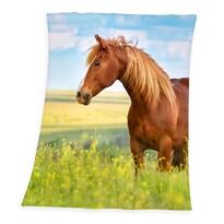 Horse Freedom pléd, 130 x 160 cm