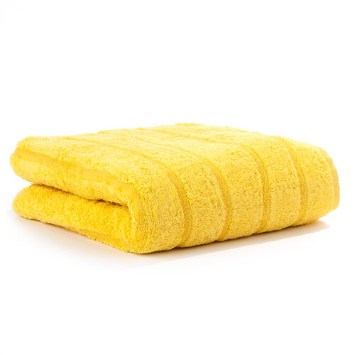 Cawö frottier ručník Tonic žlutý, 50 x 100 cm