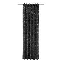Draperie Albani Jorvin, negru, 135 x 245 cm