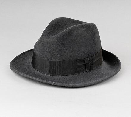 Pánský klobouk Karpet 8073, tm. šedý