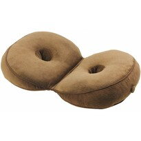 Składana poduszka wielofunkcyjna, brązowy