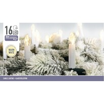 Instalaţie pom de Crăciun Genazzano, alb cald 4 m, 16 LED