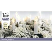 Svetelná vianočná reťaz Genazzano teplá biela 4 m , 16 LED