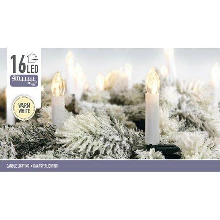 Karácsonyi fények Genazzano meleg fehér, 16 LED