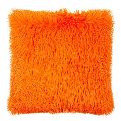 Povlak na polštářek Chlupáč Peluto Uni oranžová, 40 x 40 cm