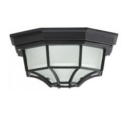 Venkovní stropní svítidlo Rabalux Milano černá 26 x 26 x 14 cm