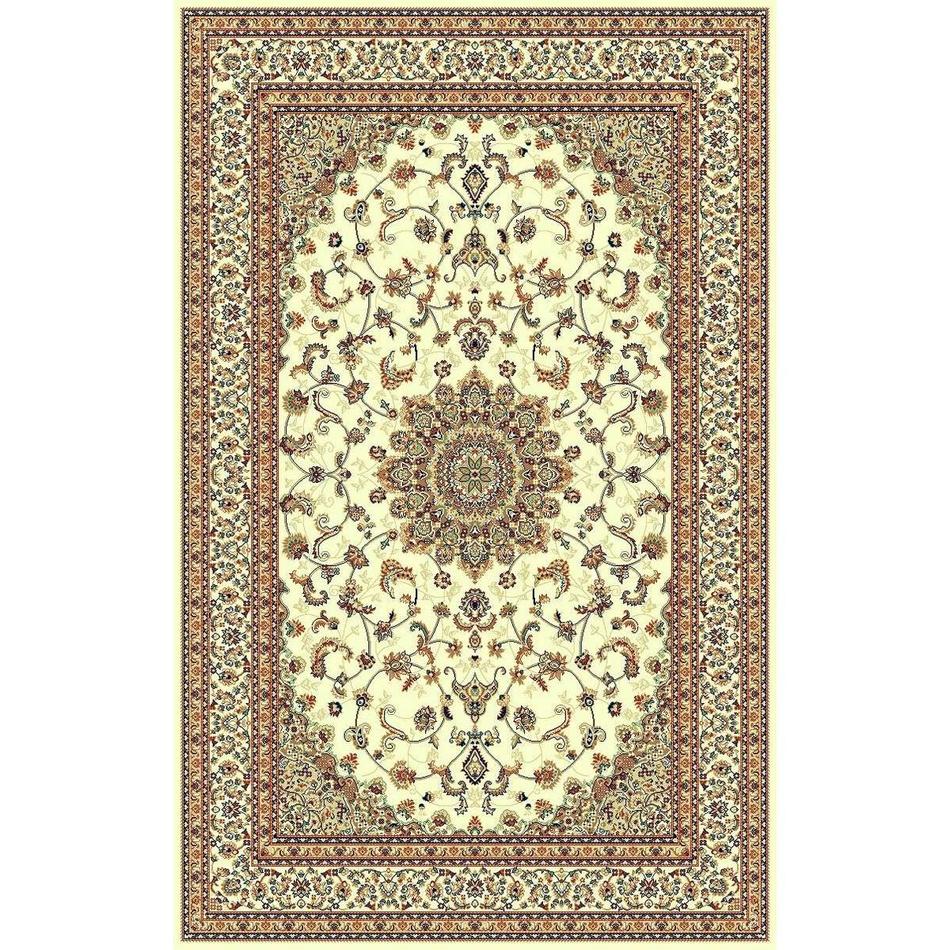 Habitat Kusový koberec Brilliant floral béžová, 135 x 195 cm