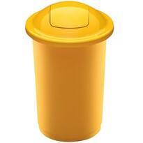 Coș de sortare deșeuri Aldo Top Bin, 50 l, galben
