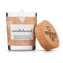 Enjoy it! Masážní svíčka Sandalwood, 70 ml