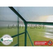 Skleník LanitGarden 8x12 Plugin, stříbrný, stříbrná
