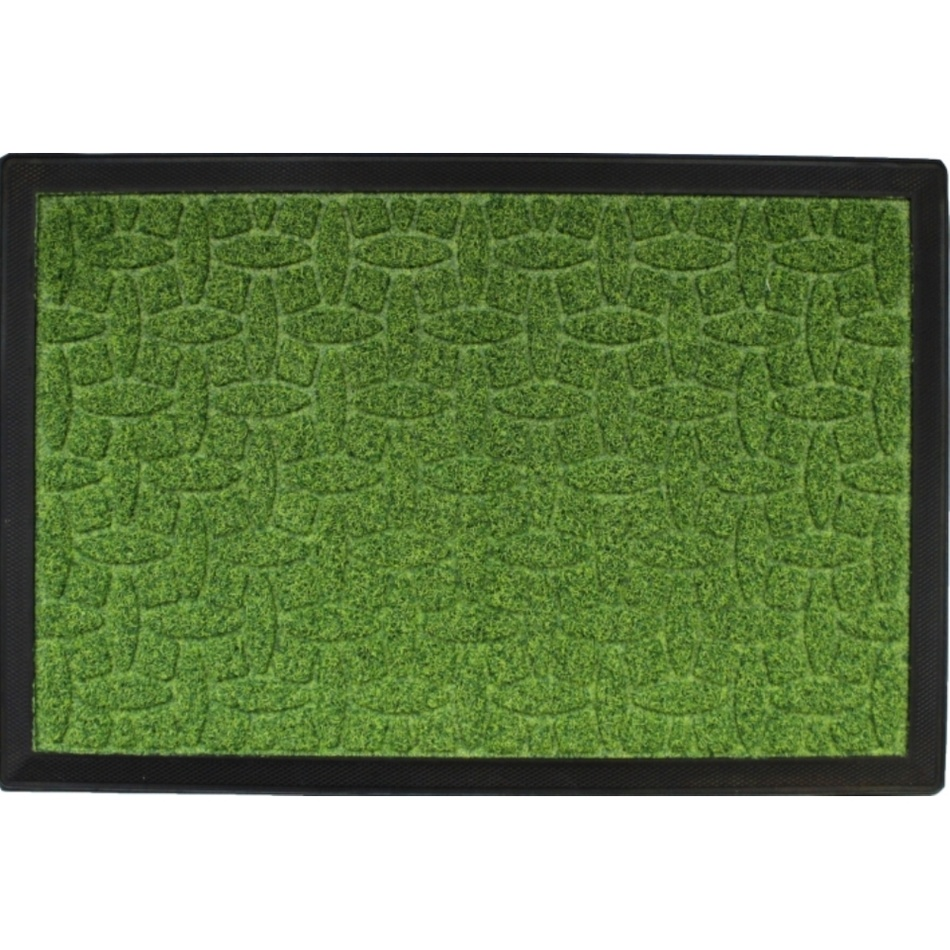 Domarex Wycieraczka Pips Mat zielona, 40 x 60 cm