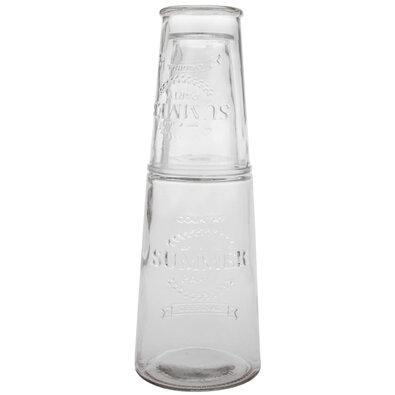 Karafa s pohárom 800 ml, číra