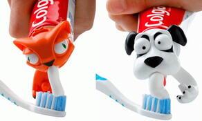 zvířátko na zubní pastu