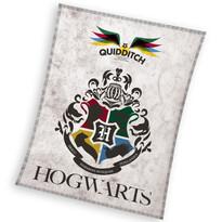 Koc dziecięcy Harry Potter Quidditch, 130 x 170 cm