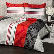 Lenjerie pat 1 pers. Alfa, creponată 140 x 200 cm, 70 x 90 cm