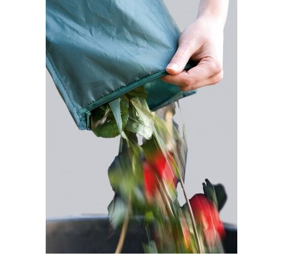 Kôš na krk, zelená, 13-cm
