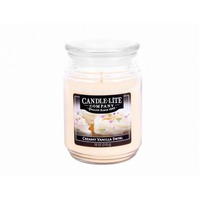 Lumânare parfumată Candle-lite Crema de vanilie, 510 g