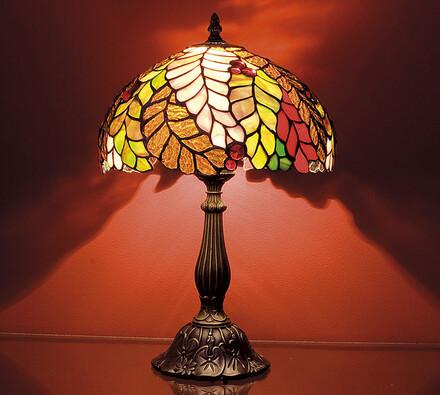 Luxusní lampa Tiffany