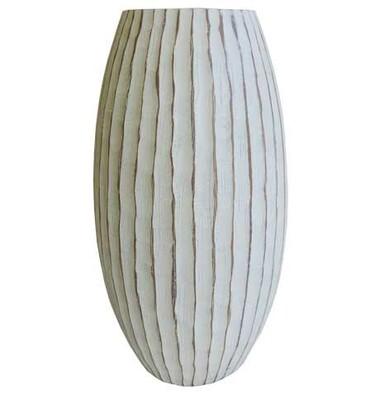 Váza v přírodních barvách 34 cm