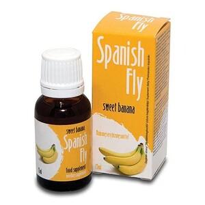 Španělské mušky Banán, 15 ml